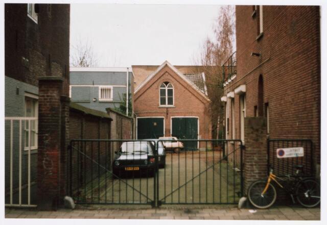 035294 - Achterzijde van het woonhuis Willem II-straat nummer 53.