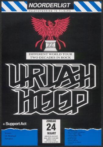 650270 - Noorderligt. Uriah Heep. Support act: Tokio Blade