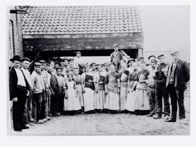 039704 - Steenfabriek J.B. Teurlings later Smulders en Teurlings, Dongenseweg 18. (1910)
