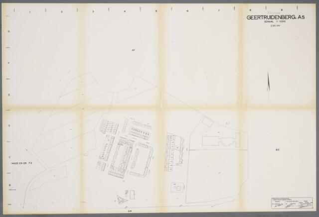 059408 - Kadasterkaart. Kadasterkaart Geertruidenberg A5