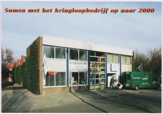 028358 - Reclamefolder. Kringloopbedrijf Tilburg aan de Perosistraat 81