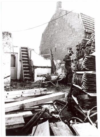 015653 - Renovatie van een achttiende eeuws wevershuisje aan de Bokhamerstraat