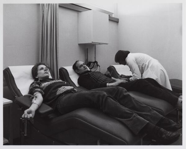 041755 - Elisabethziekenhuis. Gezondheidszorg. Ziekenhuizen. Interieur van de bloedbank in het St. Elisabethziekenhuis