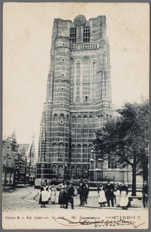 103061 - Kerken. R.K. St. Jansbasiliek. Toren.