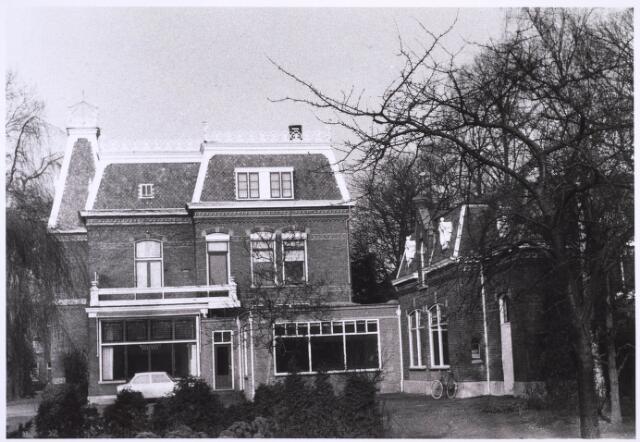 023273 - Achterzijde van de villa aan de St. Josephstraat 108 halverwege januari 1971