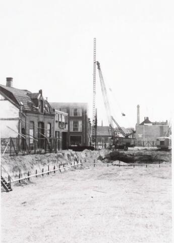 032560 - Eerste paal nieuw stadhuis: omschrijving zie documentnummer 32552