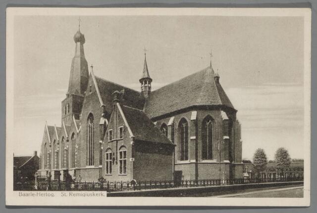 065519 - De Rooms Katholieke kerk van St. Remigius aan de Kerkstraat in Baarle-Hertog