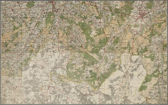 066015 - Topografische kaarten Tilburg en omgeving samengesteld