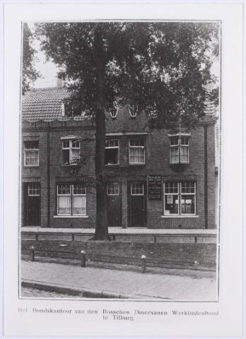 014245 - Bondskantoor van de Bossche Diocesane Werkliedenbond aan het St.-Annaplein omstreeks 1928