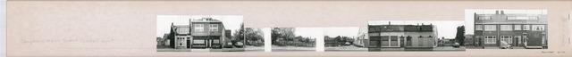 1625_0236 - Fotostrook; straatwand; panden aan de linten en hoofdverbindingswegen in het centrum van de stad; ; foto's werden tussen 1976 en 1985 gemaakt.