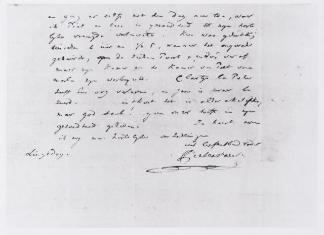 045291 - Brief.Vervolg van de brief van Pieter Vreede aan zijn kinderen over de ramp in Leiden (zie ook nr. 45294)