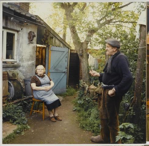072272 - Dorus Spanings en zijn vrouw.