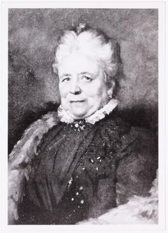 008206 - Schilderij door Thérèse Schwartze, (1852-1918).. Leonie Diepen geboren Bareel.