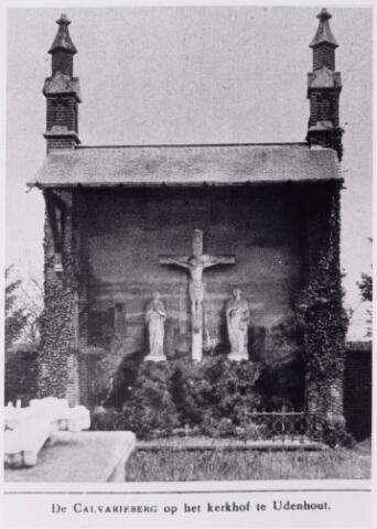 048662 - Calvarieberg op het kerkhof aan het Kloosterpad te Udenhout.