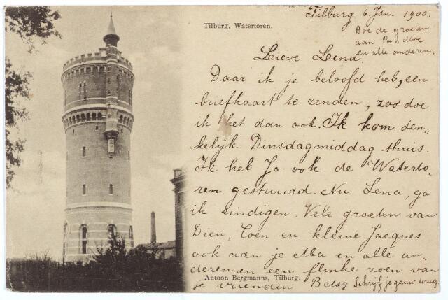 000178 - Watertoren,  Bredaseweg.