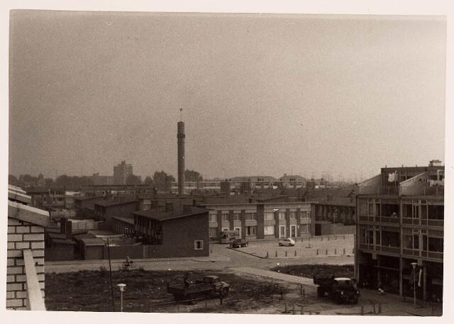 036669 - Panorama van Tilburg vanaf flats aan de Statenlaan