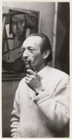 101100 - Jan van der Straeten geboren Oosterhout 15 april 1924, kunstenaar.