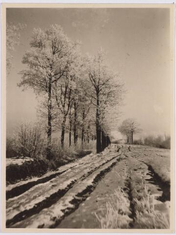 018257 - Enschotsebaan in de winter van 1920