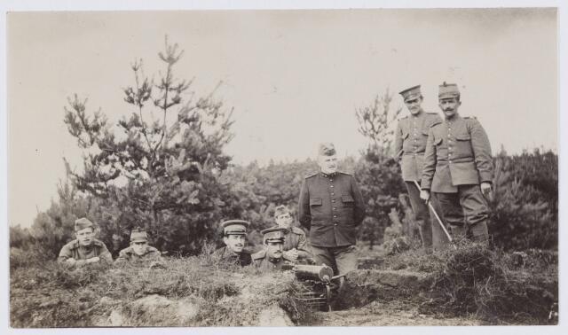 053663 - Eerste wereldoorlog 1914-1918. Activiteiten/materieel.