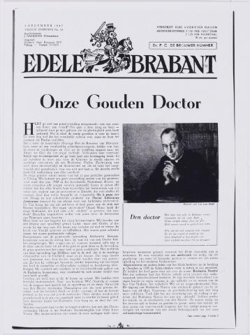 006667 - (eerste deel van) artikel gewijd aan dr. P.C. de Brouwer