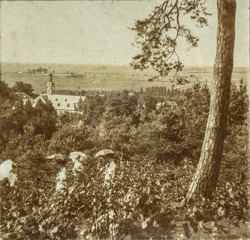 653539 - Uitzicht over omgeving Valkenburg. (Origineel is een stereofoto.)