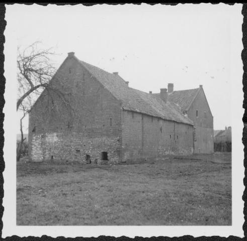 653399 - Verdwenen stadsgezichten, Tilburg. Zij aanzicht van het zelfde pand in de zgn. Vogeltjesbuurt dat rijp was voor de sloop