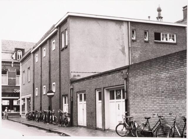 033112 - Achterzijde van het bedrijf Hoying Jungerhans aan de Telefoonstraat. De voorgevel was aan de Heuvelstraat 87.