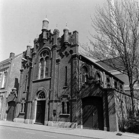 1237_010_758_009 - Architectuur. Religie. Jodendom. De Joodse Synagoge in de Willem II straat in 1997.