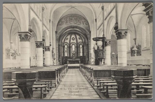 065553 - Rooms Katholieke Kerk van Onze Lieve Vrouw van Altijddurende Bijstand; later werd deze kerk verbouwd met als architect Jac. van Groenendael
