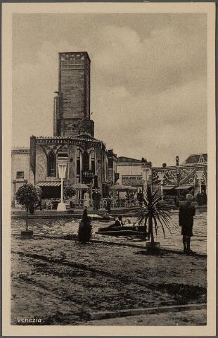 011257 - Attractieterrein Venezia op de Internationale Tentoonstelling Stad Tilburg 1934.