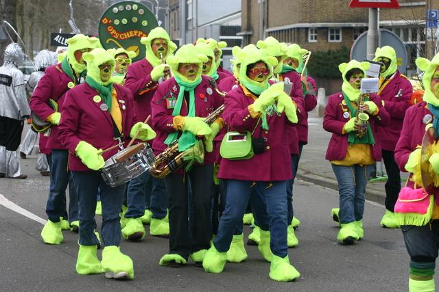 657248 - Carnaval. Optocht. D'n opstoet in Tilburg.