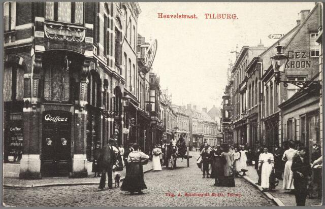010166 - Heuvelstraat hoek Willem IIstraat richting Heuvel.