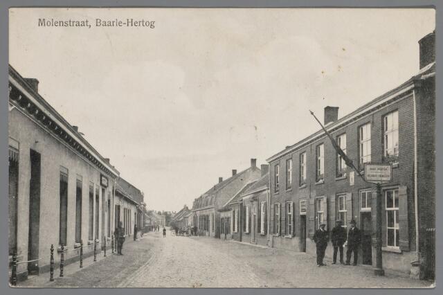 065536 - IInkijk in  de Molenstraat te Baarle-Hertog