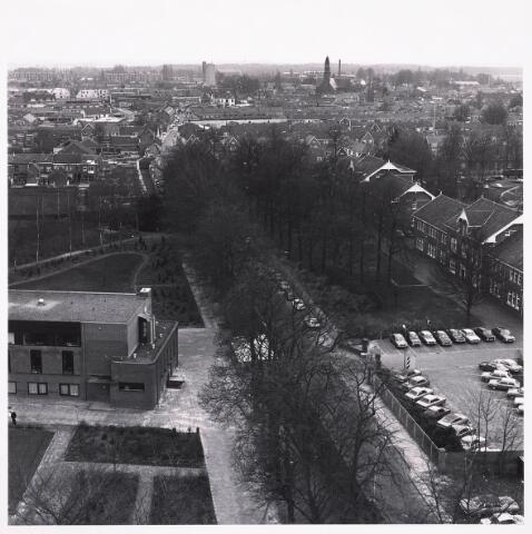036732 - Panorama van Tilburg vanaf de watertoren