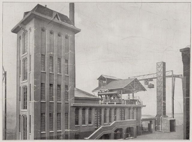 100803 - Energievoorziening. Gasfabriek.