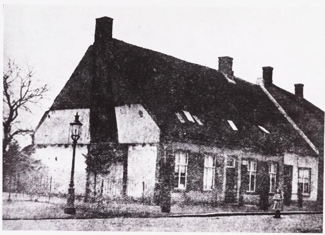 034945 - Gezondheidszorg. Het eerste gasthuis op de Veldhoven van 1827-1838