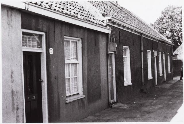 034460 - Lijnse Zijstraat 7, 5,  3, 1. De Lijnse Zijstraat is -na afbraak van de aangelegen woningen- opgegaan in de Von Weberstraat.