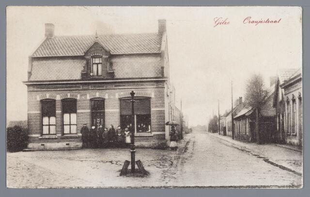 057760 - Oranjestraat, bakkerij de Haas.