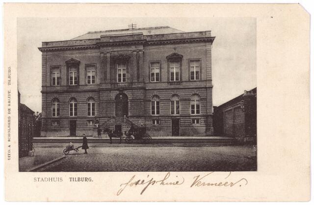 002332 - Voormalig  gemeentehuis aan de Markt,  nu Stadhuisplein.