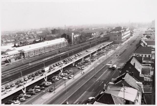 036634 - Panorama van Tilburg vanaf de flat aan de Spoorlaan 392