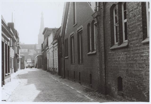 025579 - Langestraat gezien in de richting van het centrum