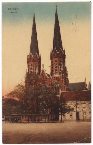 000956 - Kerk en Lindeboom, Heuvel.