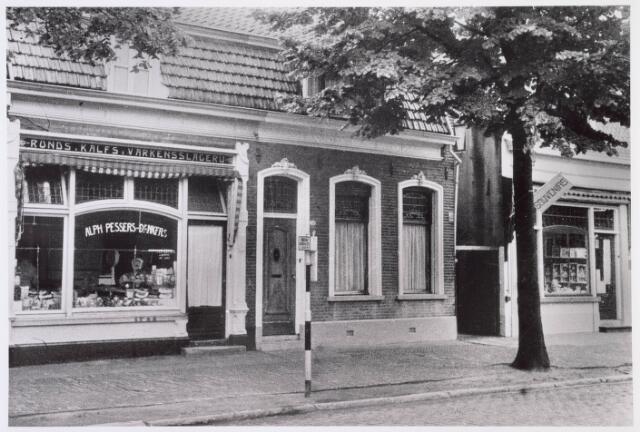 019074 - Slagerij Alphons Pessers - Dankers aan de Goirkestraat
