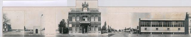 1625_0080 - Fotostrook; straatwand; panden aan de linten en hoofdverbindingswegen in het centrum van de stad; v/h/ texmus -philips vingboonsstr - fabriekhal  a&n mutsaerts; foto's werden tussen 1976 en 1985 gemaakt. (foto gemaakt in periode 1976-1985)