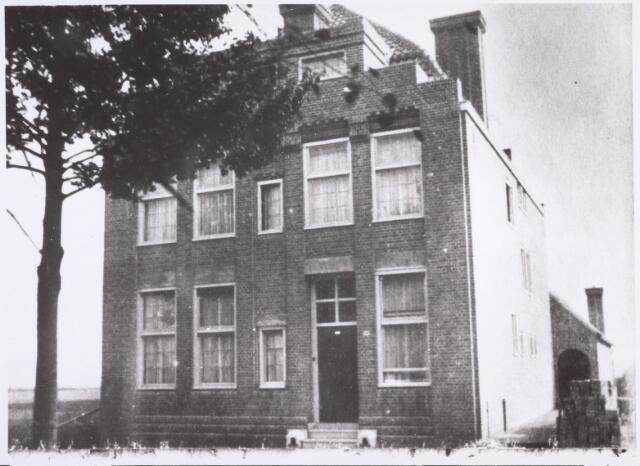 022344 - Pand Hoefstraat 214 in 1919, waarschijnlijk bewoond door steenfabrikant Claesen