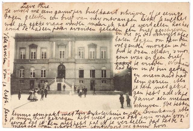 002334 - Voormalig gemeentehuis aan de Markt, nu Stadhuisplein.