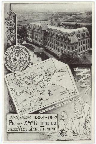 000144 - Missiehuis van de missionarissen van het H. Hart aan de Bredaseweg bij 25-jarig jubileum.