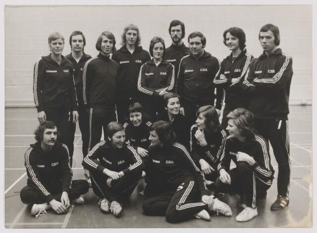 082091 - Volleybal. Dames en Herenploegen van Ericson C.C.S.