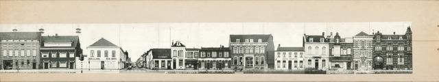 1625_0253 - Fotostrook; straatwand; panden aan de linten en hoofdverbindingswegen in het centrum van de stad;
