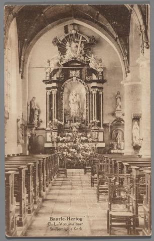 065630 - Onze Lieve Vrouwaltaar in de Rooms Katholieke kerk van Baarle Hertog St. Remigius aan het Kerkplein